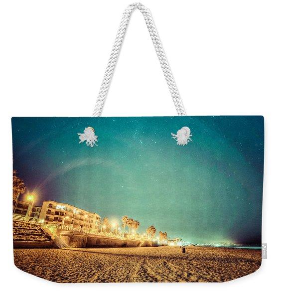 Starry Starry Pacific Beach Weekender Tote Bag