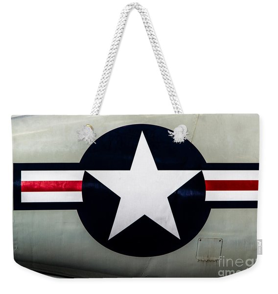 Stars And Bars Weekender Tote Bag