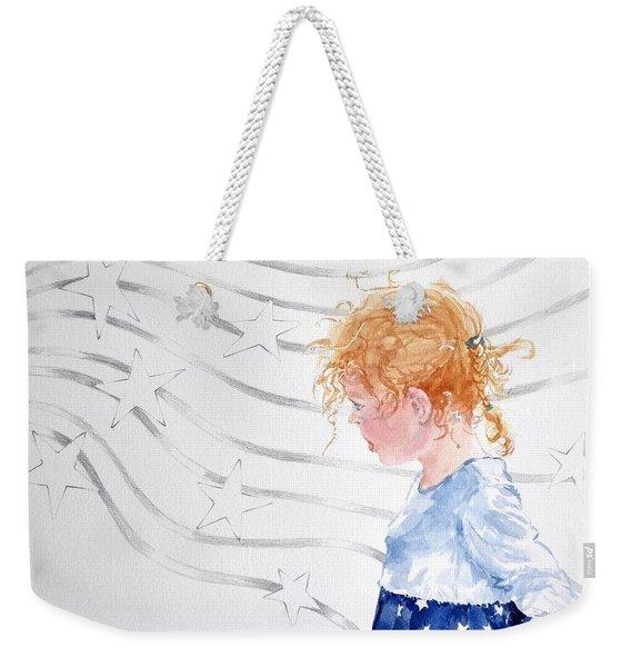 Stars And Stripes Weekender Tote Bag