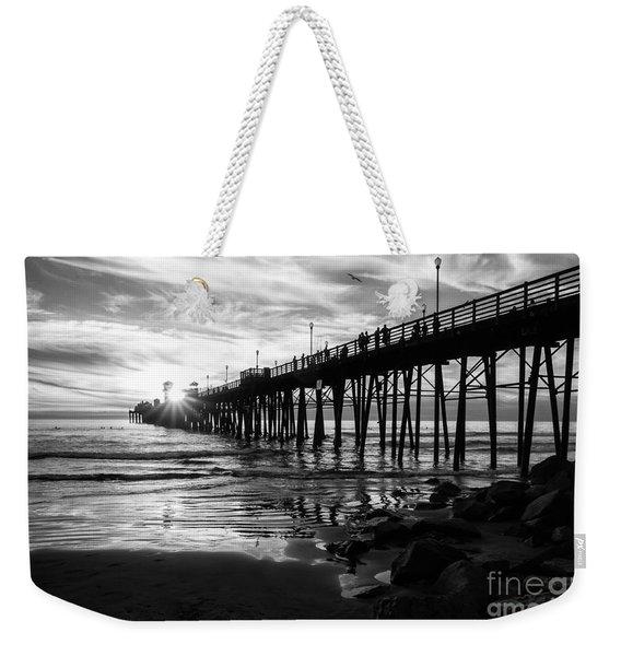 Stars And Swirls In Oceanside Weekender Tote Bag