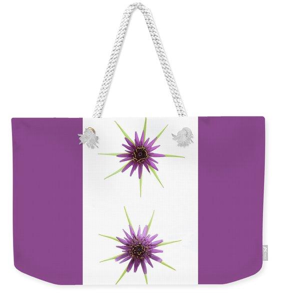 Stars Of Salsify Weekender Tote Bag