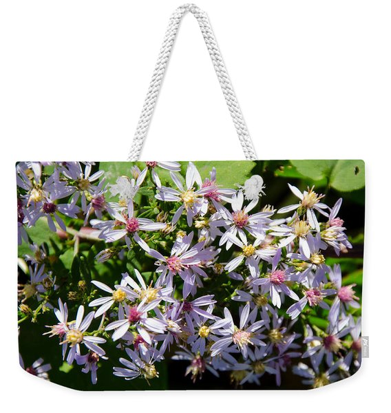 Stars Of The Autumn Weekender Tote Bag