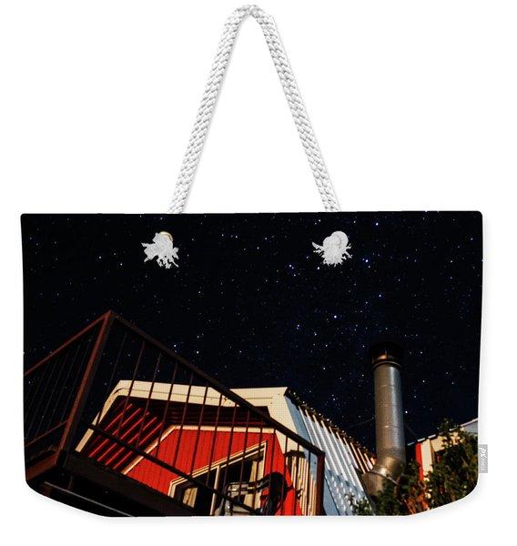 Stars Over Gila Cottage Weekender Tote Bag
