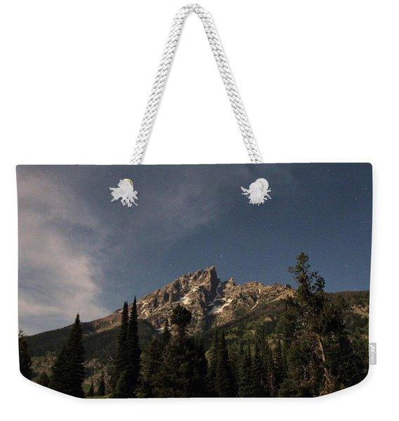 Stars Over Grand Teton Weekender Tote Bag