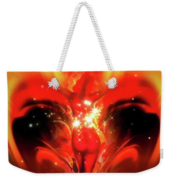 Stars Sparkle Weekender Tote Bag