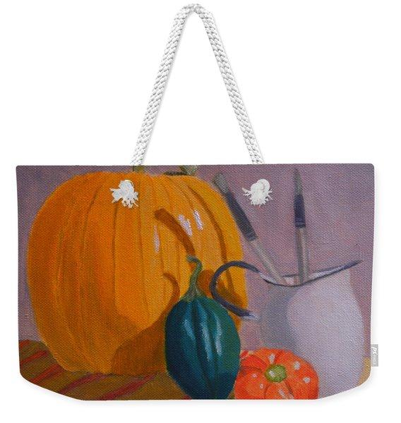 Start Of Fall Weekender Tote Bag