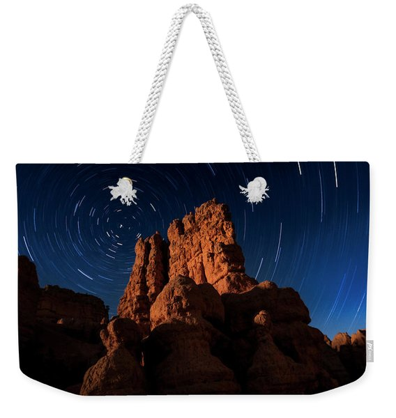 Stary Trails At Red Canyon Weekender Tote Bag