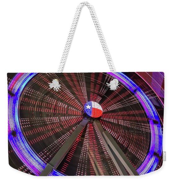 State Fair Of Texas Ferris Wheel Weekender Tote Bag