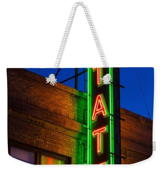 State Theatre - Ithaca Weekender Tote Bag
