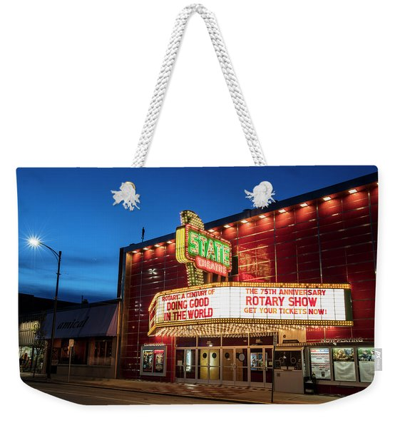 State Theatre Traverse City Weekender Tote Bag
