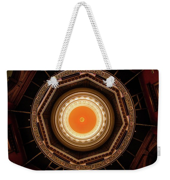 Statehouse Dome-new Jersey Weekender Tote Bag