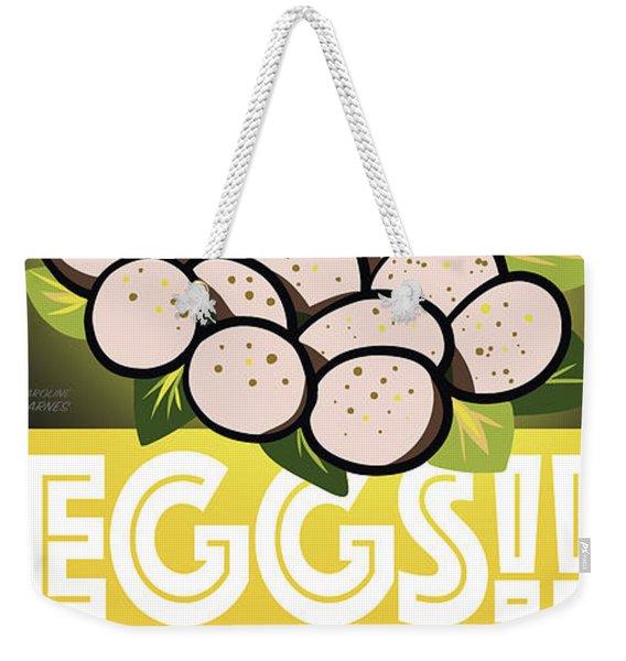 Staten Islands Eggs Weekender Tote Bag