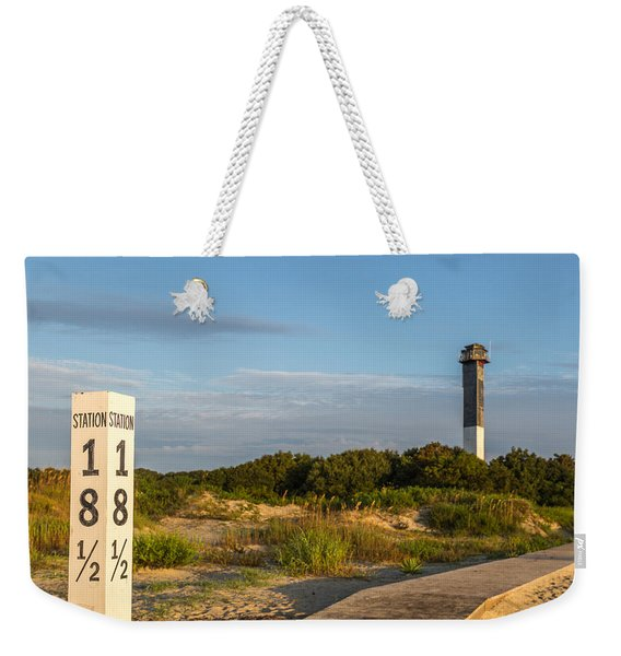 Station 18 1/2 On Sullivan's Island Weekender Tote Bag