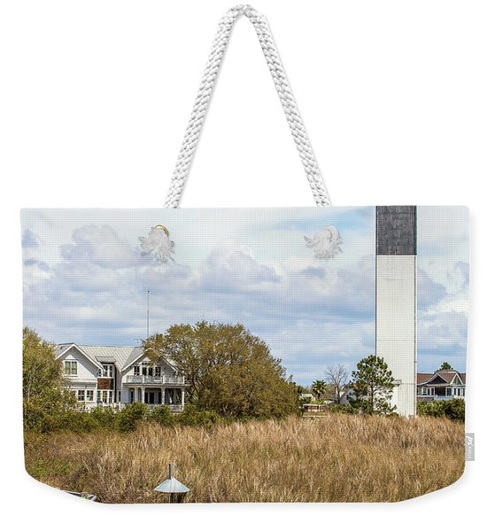 Station 18 On Sullivan's Island, Sc Weekender Tote Bag