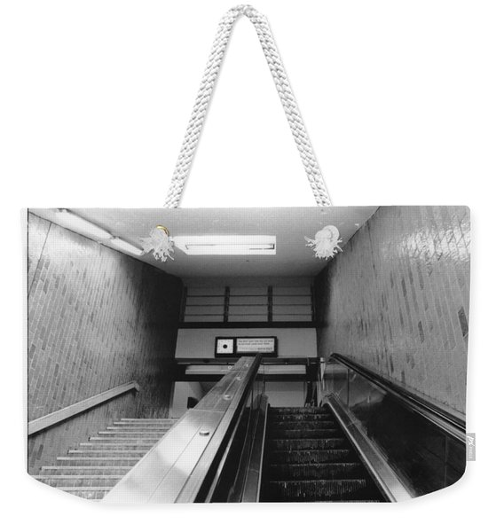 Station Stop  Weekender Tote Bag