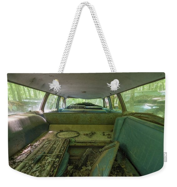 Station Wagon In Color Weekender Tote Bag