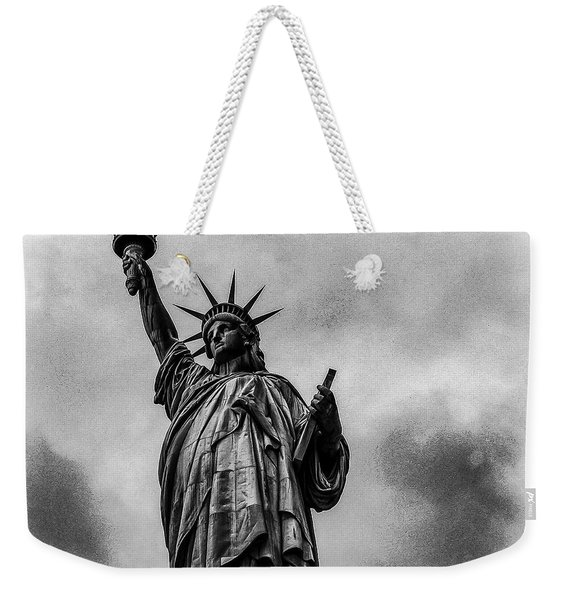 Statue Of Liberty Photograph Weekender Tote Bag