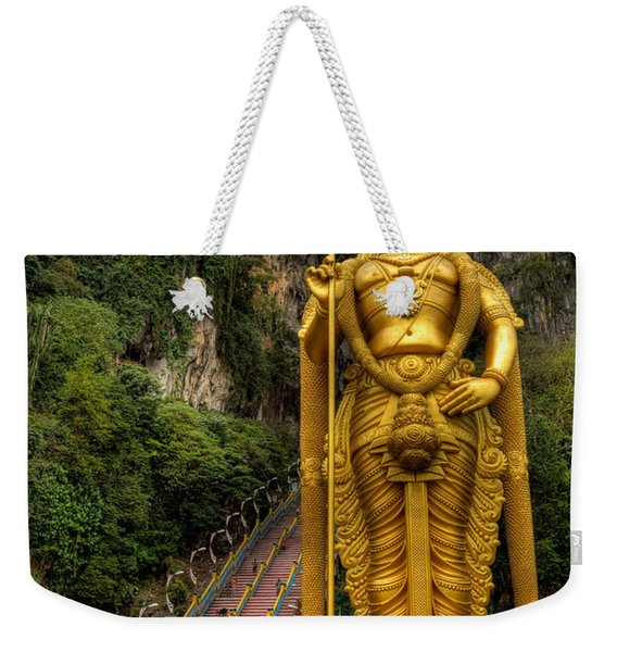 Statue Of Murugan Weekender Tote Bag