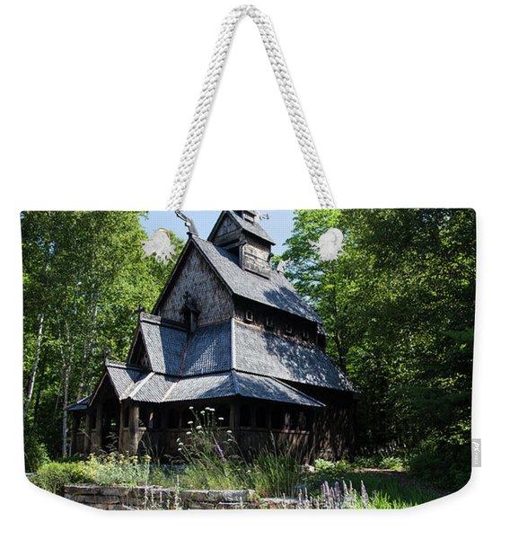 Stavkirke Church Weekender Tote Bag