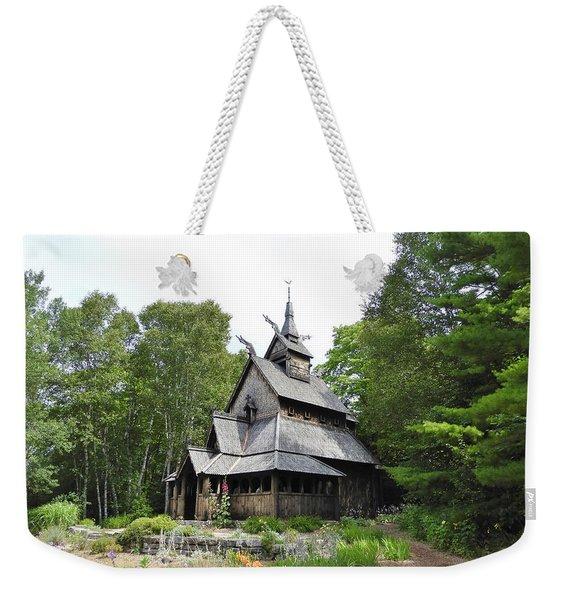 Stavkirke Weekender Tote Bag
