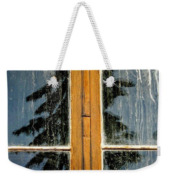 Stavkirke Reflection Weekender Tote Bag