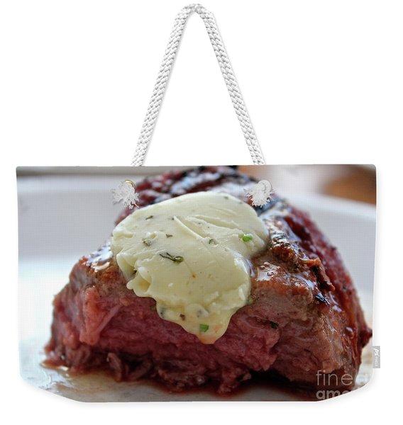Steak  Weekender Tote Bag