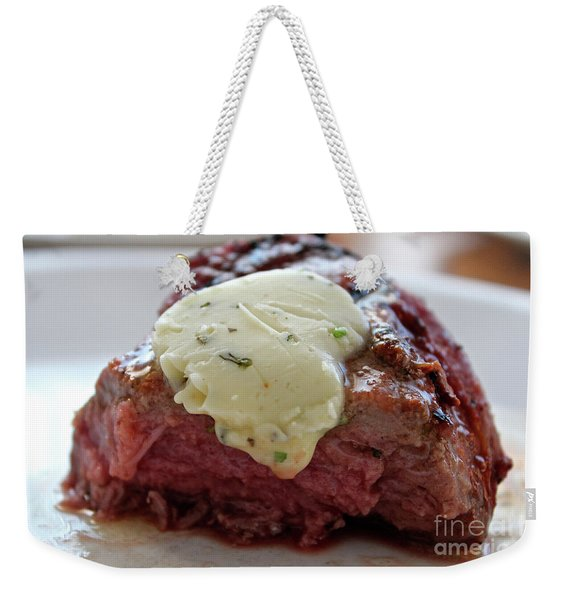 Steak  Weekender Tote Bag