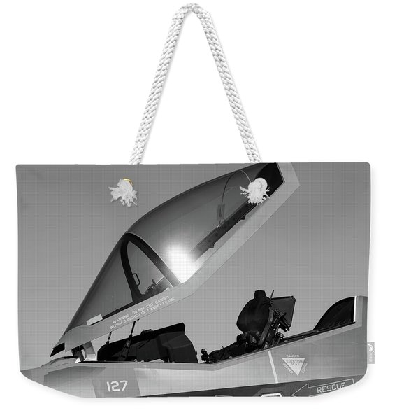 Stealth Office - 2017 Christopher Buff, Www.aviationbuff.com Weekender Tote Bag