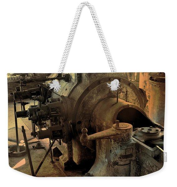 Steam Engine No 4 Weekender Tote Bag