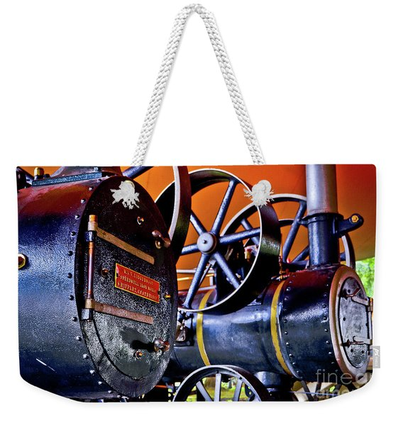 Steam Engines - Locomobiles Weekender Tote Bag