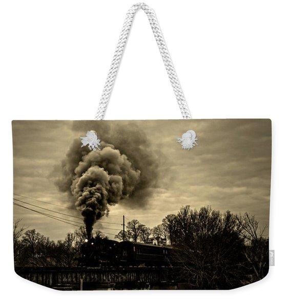 Steam Weekender Tote Bag