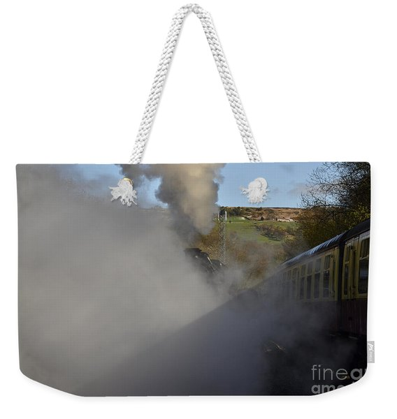 Steam Steam Steam Weekender Tote Bag