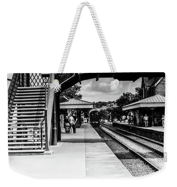 Steam Train In The Station Weekender Tote Bag