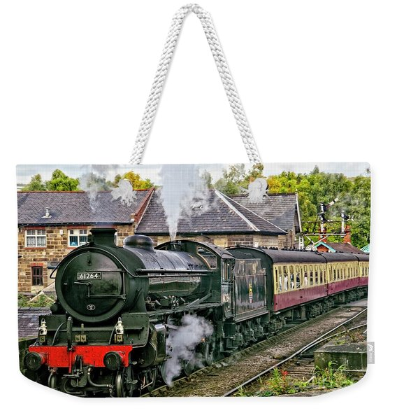 Steaming Out Of Grosmont Station Weekender Tote Bag