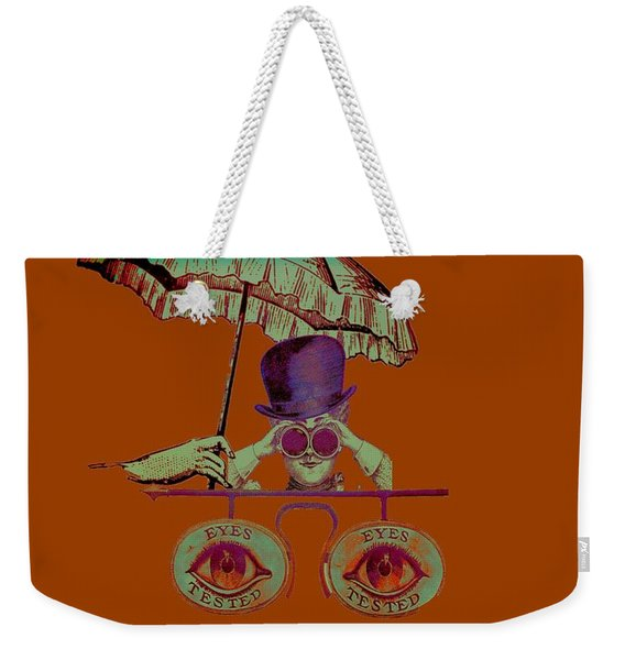 Steampunk T Shirt Design Weekender Tote Bag