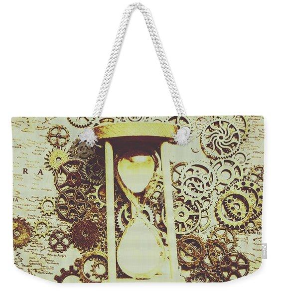 Steampunk Time Weekender Tote Bag