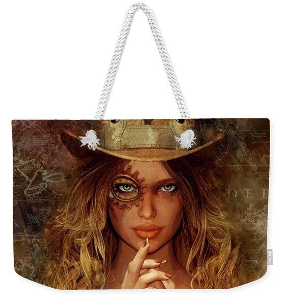 Steampunk Traveler Weekender Tote Bag