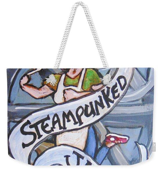 Steampunked Jams Weekender Tote Bag