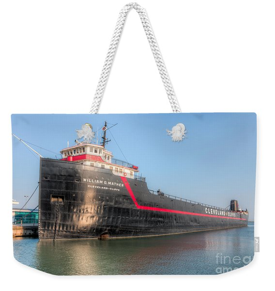 Steamship William G. Mather I Weekender Tote Bag