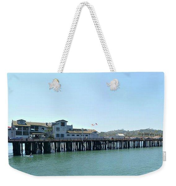 Stearns Wharf 2 Weekender Tote Bag