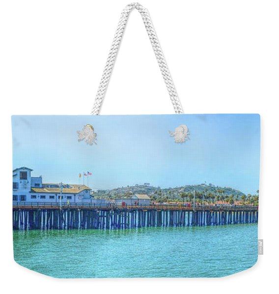 Stearns Wharf Weekender Tote Bag
