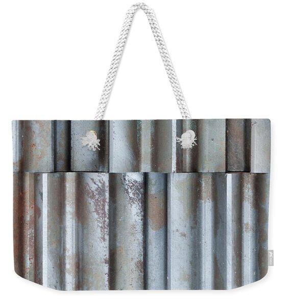Steel Weekender Tote Bag