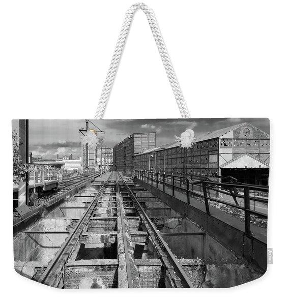 Steelyard Tracks 1 Weekender Tote Bag