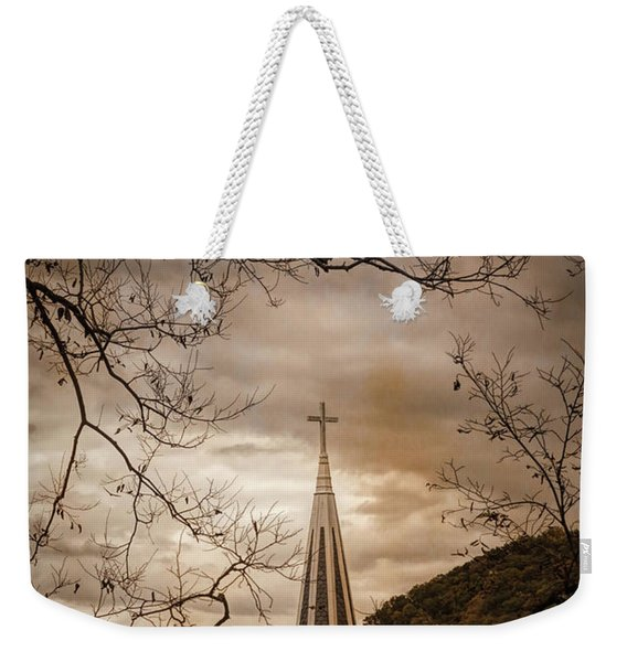 Steeple Of Time Weekender Tote Bag