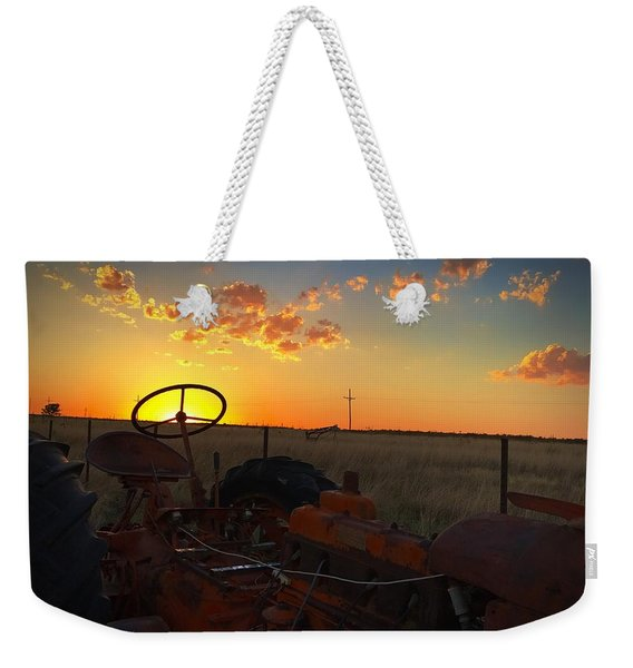 Steering The Sun Weekender Tote Bag