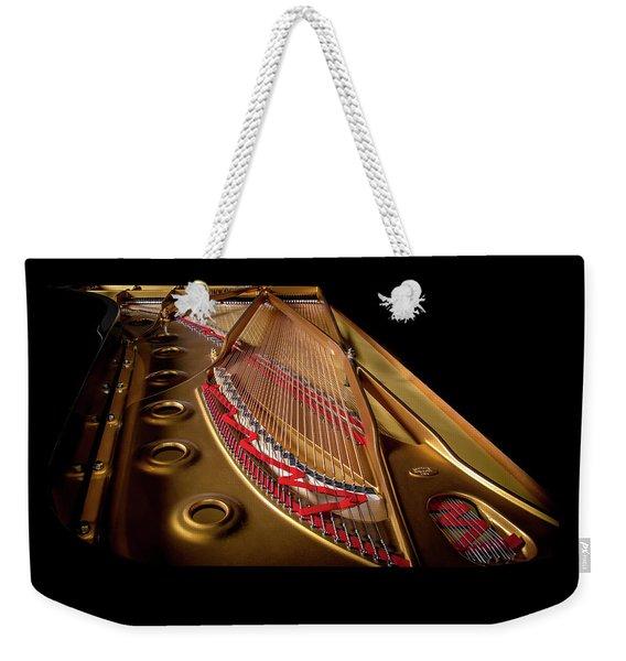 Steinway Guts Weekender Tote Bag
