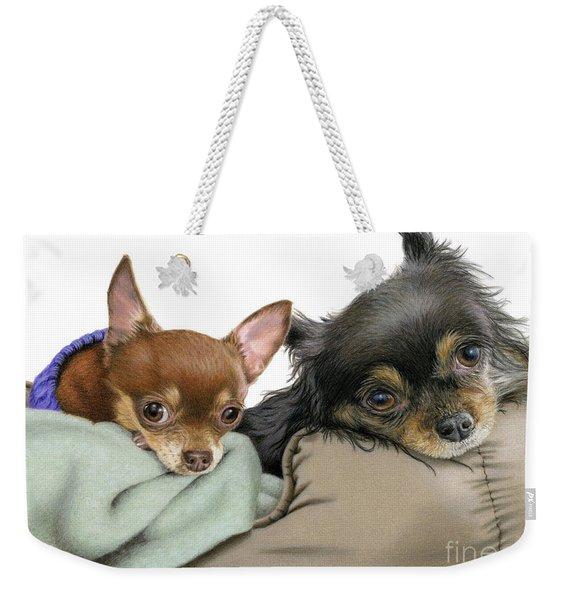 Stella And Nettie Weekender Tote Bag