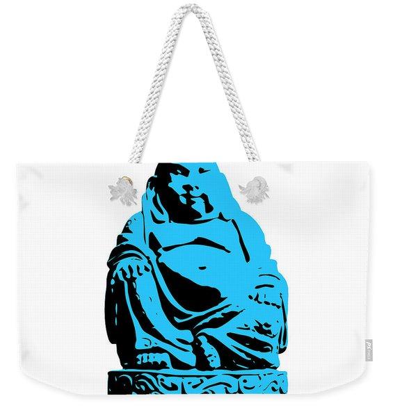 Stencil Buddha Weekender Tote Bag