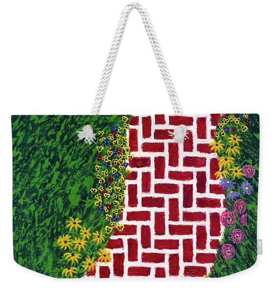 Step Into My Garden Weekender Tote Bag
