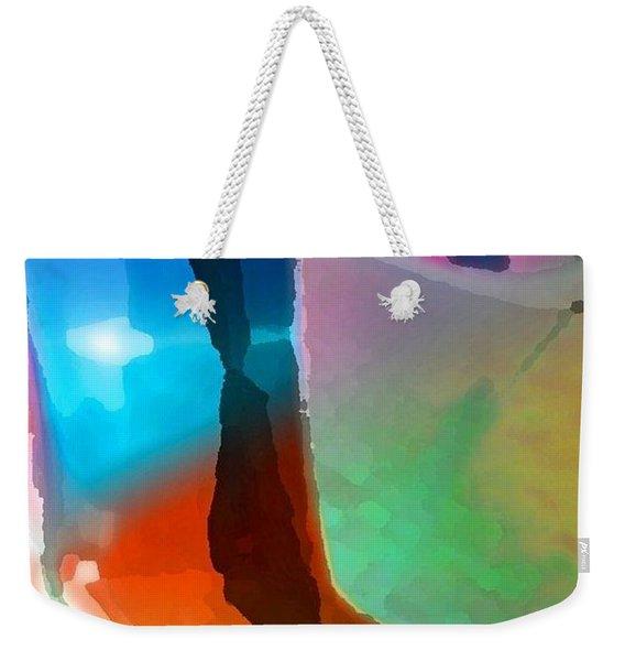Step Up Weekender Tote Bag